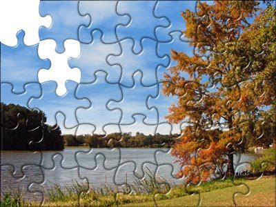 Puzzle Pemandangan. U r the the missing piece!