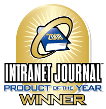 Intranet Journal 2008 Winner