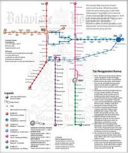 Denah Busway