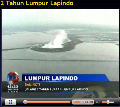 Dua tahun musibah Lumpur lapindo berlalu, dua tahun pula 700 hektar lahan