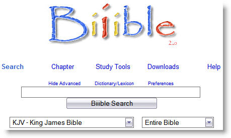 Bible Search Engine