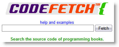 Code Fetch Search Engine