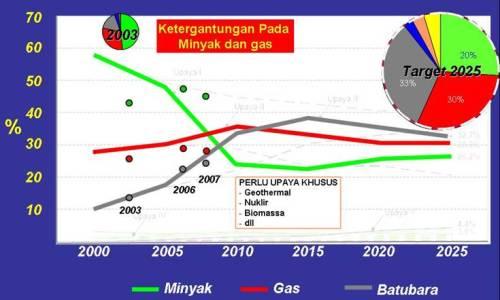 Target Kebijakan Energi Nasional (Energy Mix) 2006