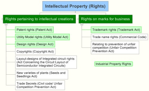 Japan Intellectual Property (Rights)