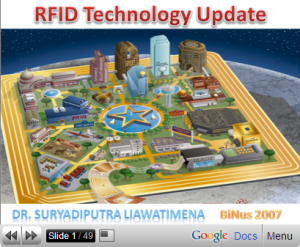 RFID Technology Update