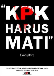 KORUPTOR HARUS MATI!