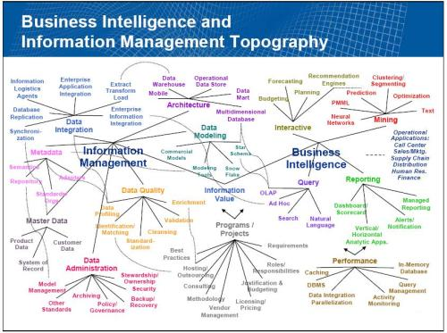 Business Intelligence And Information Management Mind-Map